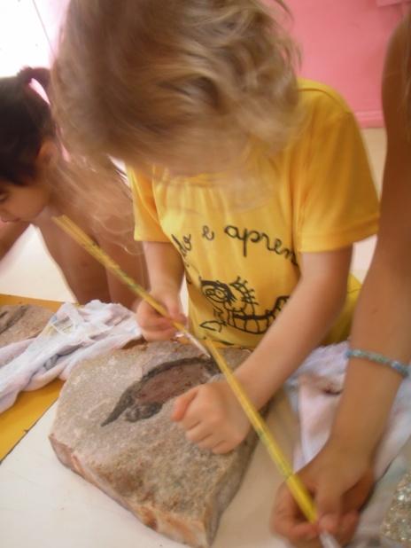 Construção de fósseis
