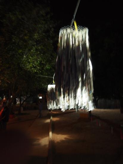 Luminárias Caboclo de Lança