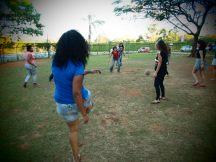 Batendo uma futebolzinho
