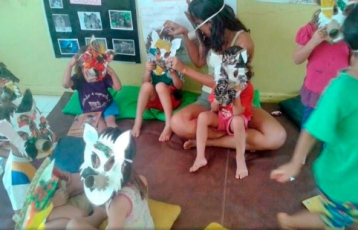 "Projeto pedagógico ""O Lobo e seus amigos de aventura"""