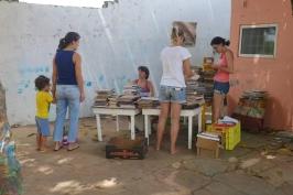 Limpeza e organização dos livros